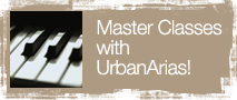 Master Classes at UrbanArias