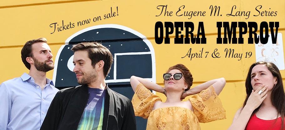 Opera Improv April 7 and May 19
