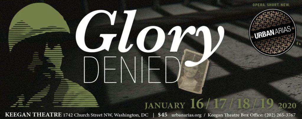Glory Denied January 16 - 19