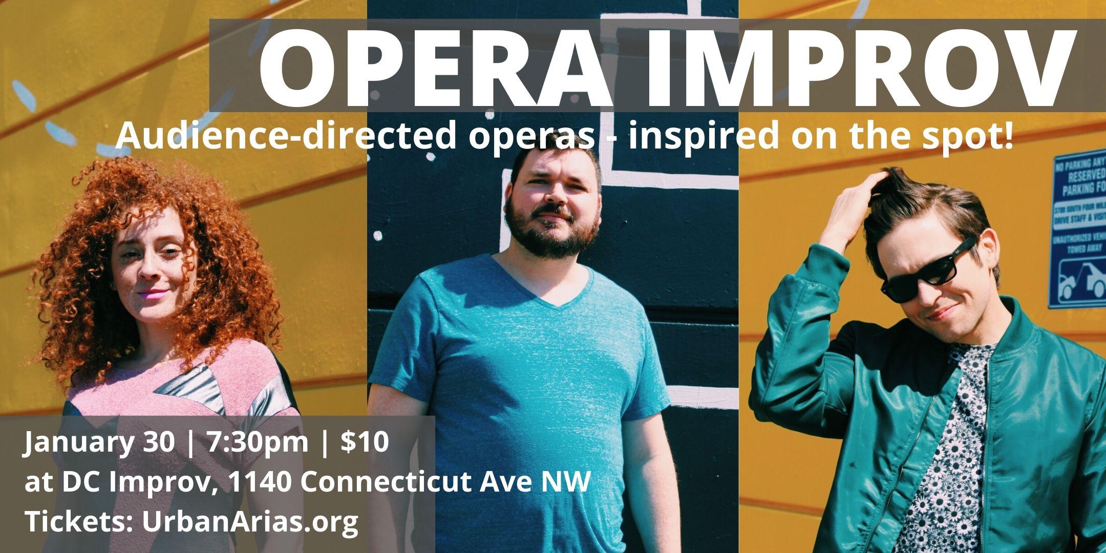 Opera Improv January 30
